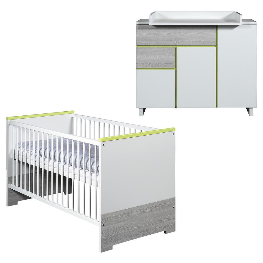 SCHARDT Pepp Kit chambre enfant avec lit kit de transformation commode  et plateau