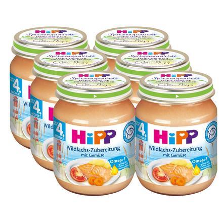 HIPP Wild Salmon with Vegetables 6x125g