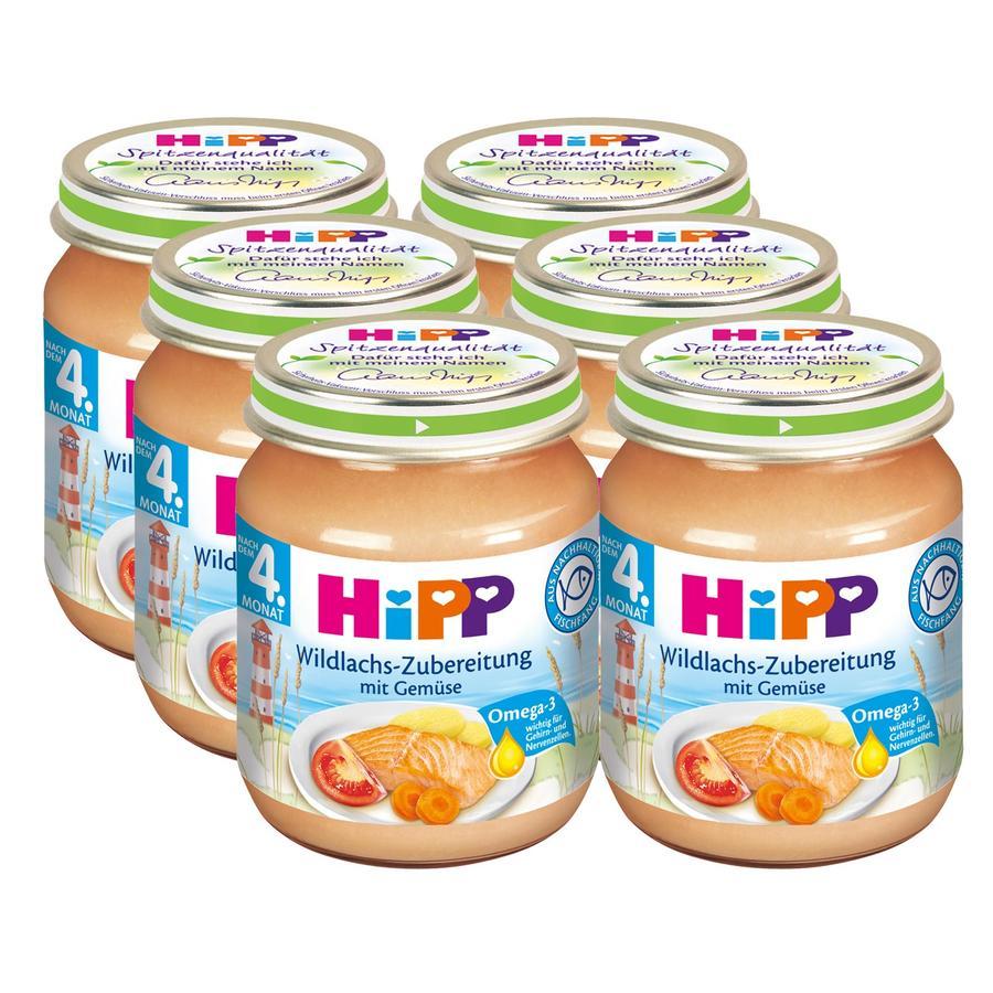 HiPP Wildlachs-Zubereitung mit Gemüse 6 x 125g