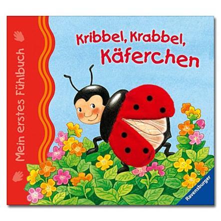 RAVENSBURGER Mein erstes Fühlbuch: Kribbel, krabbel, Käferchen