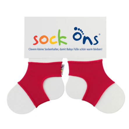 Sock Ons Brights red