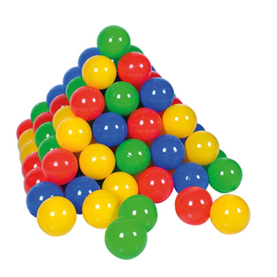 Knorrtoys Ballenset 6 cm - 100 stuks in net