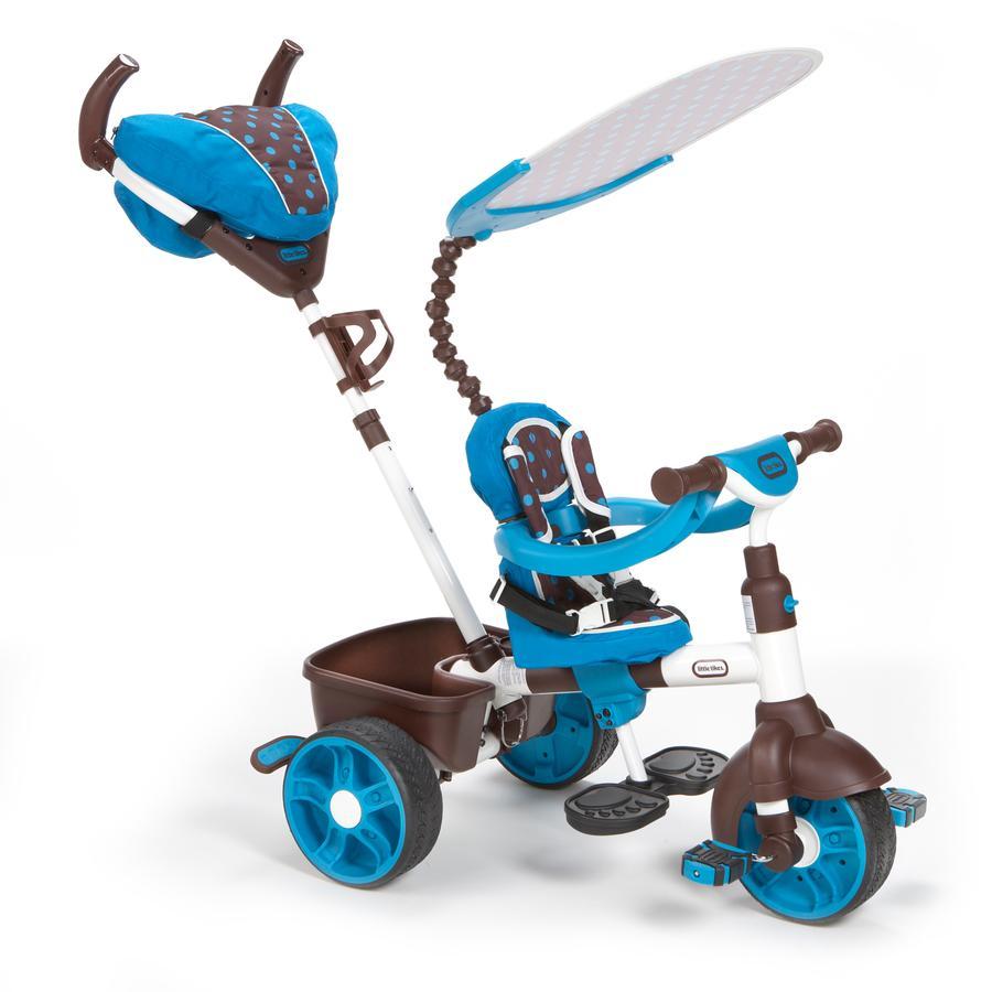 LITTLE TIKES Rowerek trójkołowy 4-in-1 Trike Sports Edition kolor niebiesko-biały
