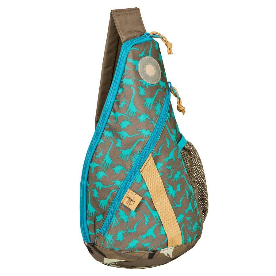 LÄSSIG Plecak Mini Sling Bag Dino slate