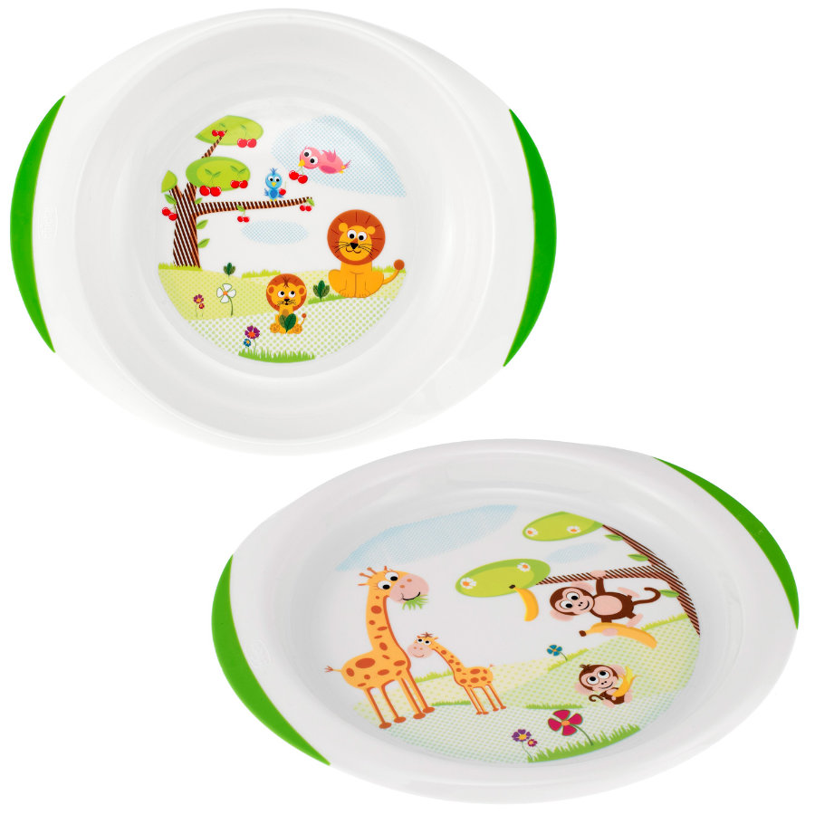 CHICCO Ensemble assiettes plate & creuse