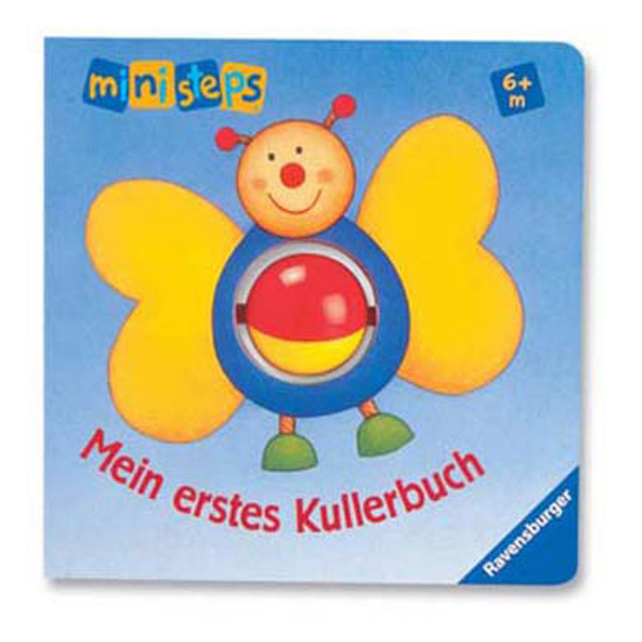ravensburger ministeps mein erstes kullerbuch baby. Black Bedroom Furniture Sets. Home Design Ideas