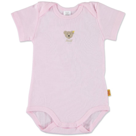 STEIFF Girls Baby Body z rękawem 1/4 barely pink
