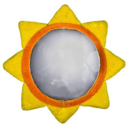 Miyali LUCA Zrcátko pro autosedačky - slunce
