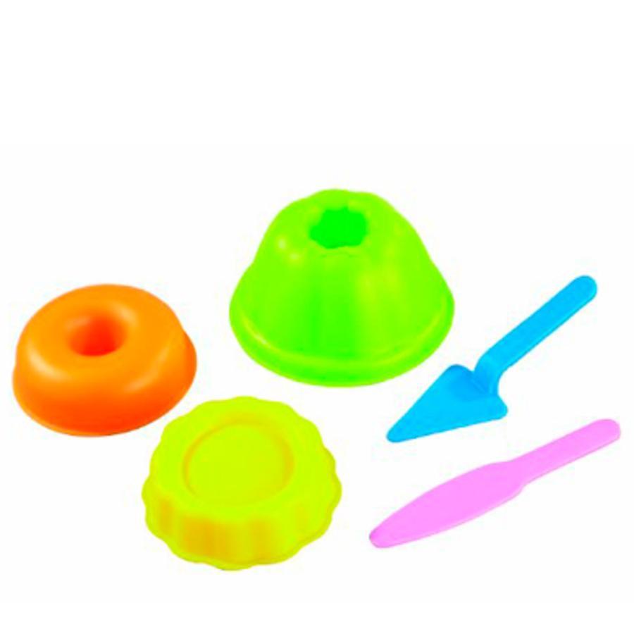 HAPE Set per Sabbia- formine per dolci - 5 pezzi