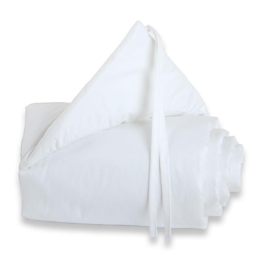 TOBI BABYBAY Protector de cuna Maxi blanco/blanco