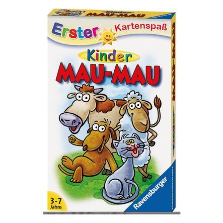 Ravensburger Pierwsza karta zabawne dzieci Mau Mau Mau