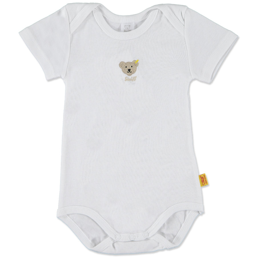 STEIFF Baby Body z rękawem 1/4 bright white