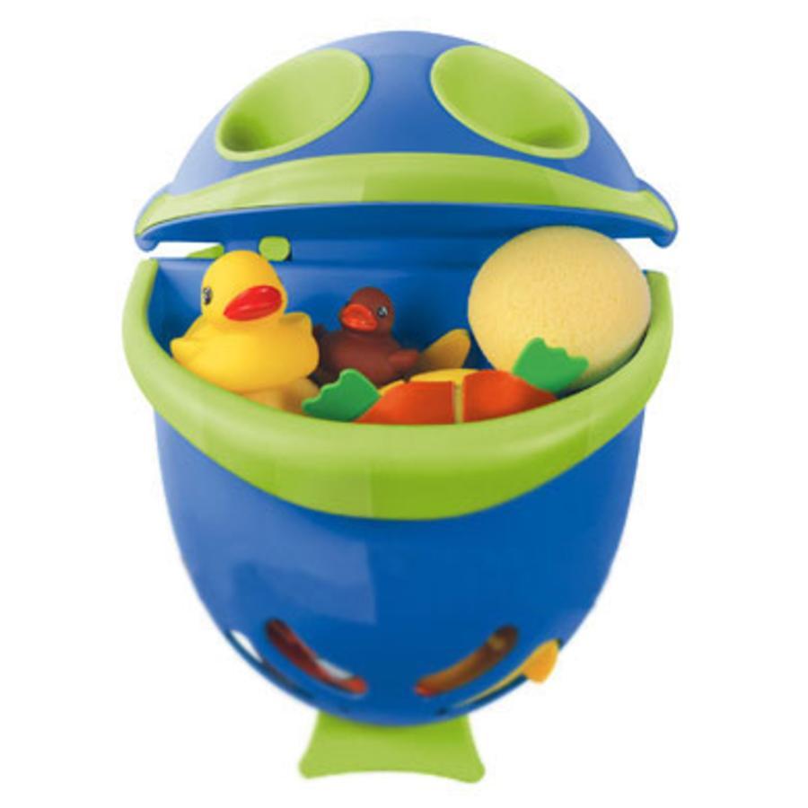 FUNNY Badespielzeugbehälter Bubble Fish blau/grün
