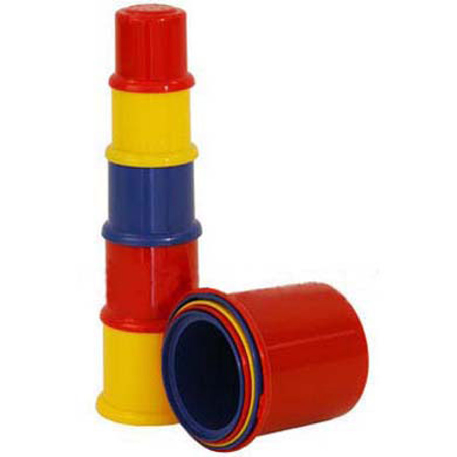 JOHNTOY Happy World Stacking Cups
