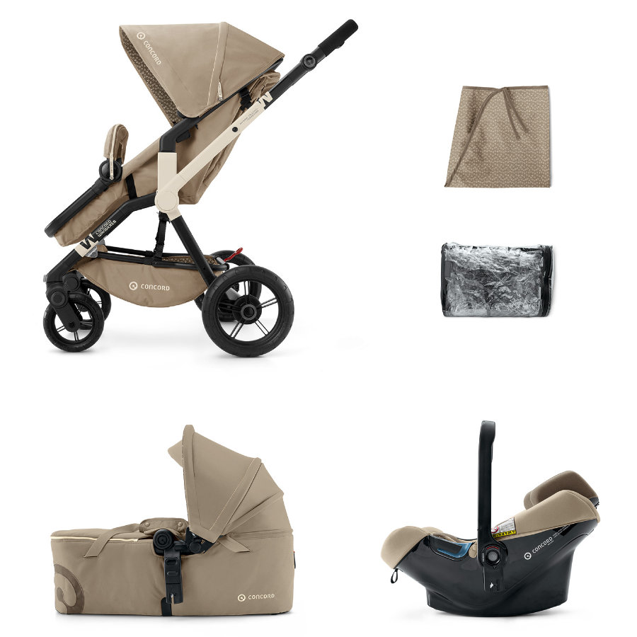 CONCORD Wanderer Mobility-Set Almond Beige 2015