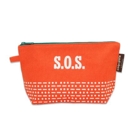 Coq en Pâte - Trousse Mibo SOS, orange