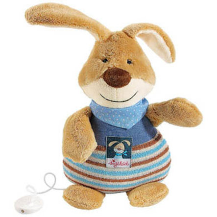 SIGIKID Semmel Bunny Small Musical Rabbit