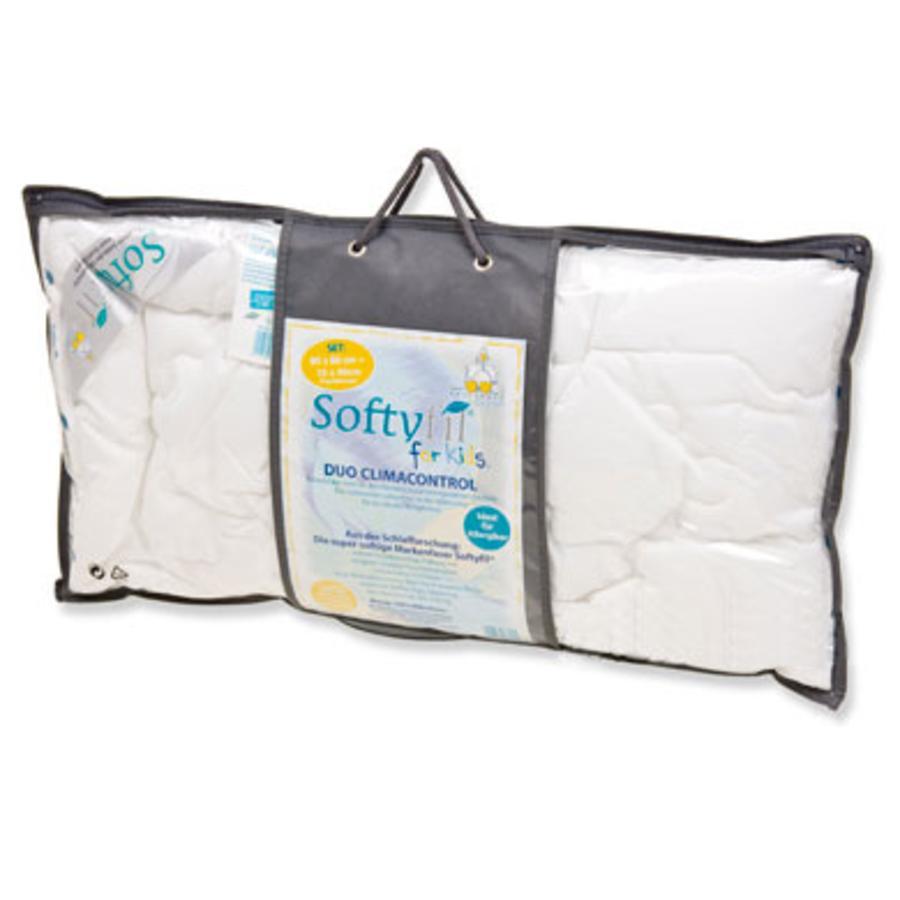 ARO Softyfil Set 80x80 cm + 35x40 cm 100% Fibre de polyester creuse