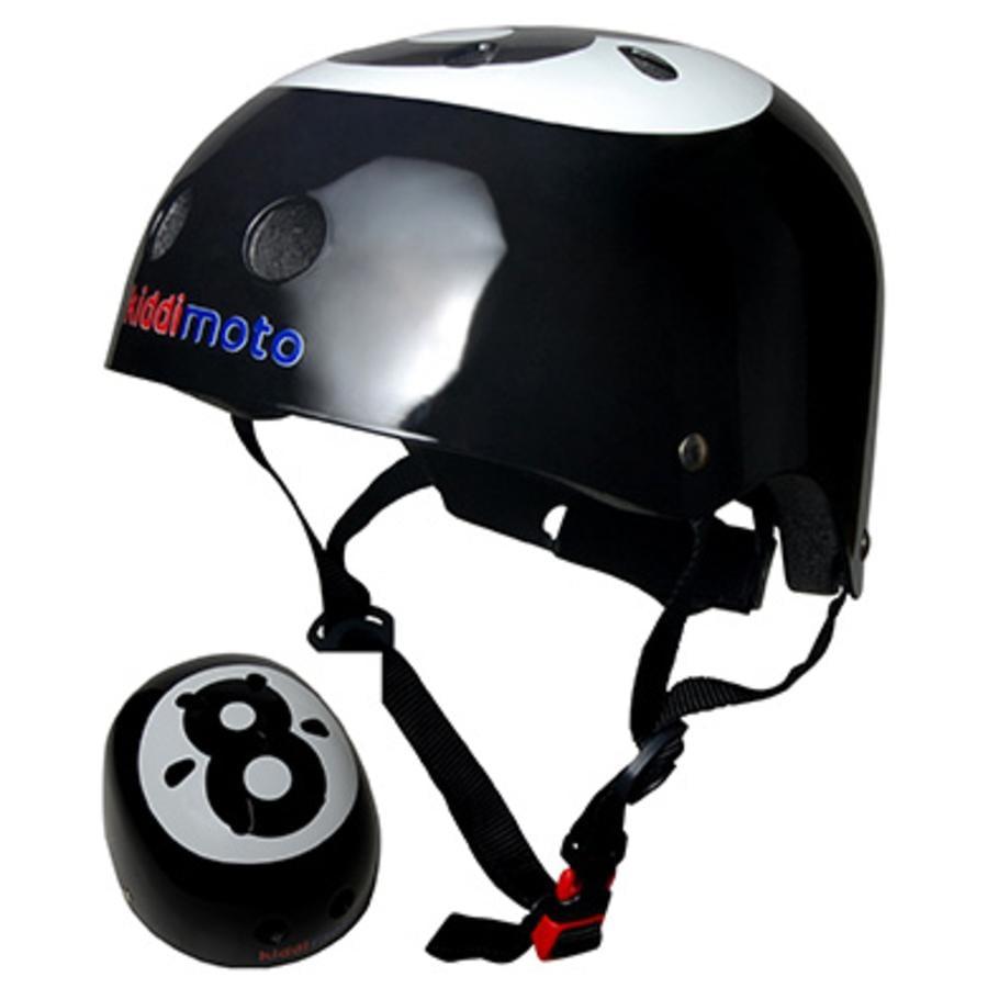 kiddimoto® Casco da bicicletta Design Sport, Palla da biliardo - Misura S, 48-53 cm