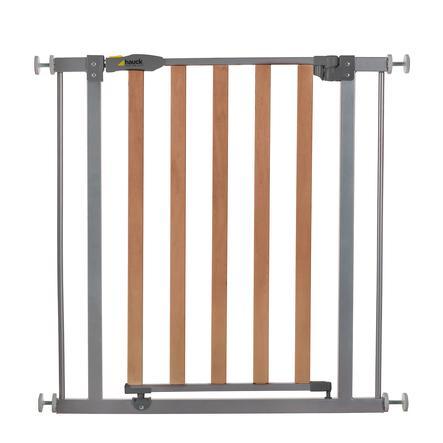 hauck Barrière de sécurité Wood Lock Safegate, silver
