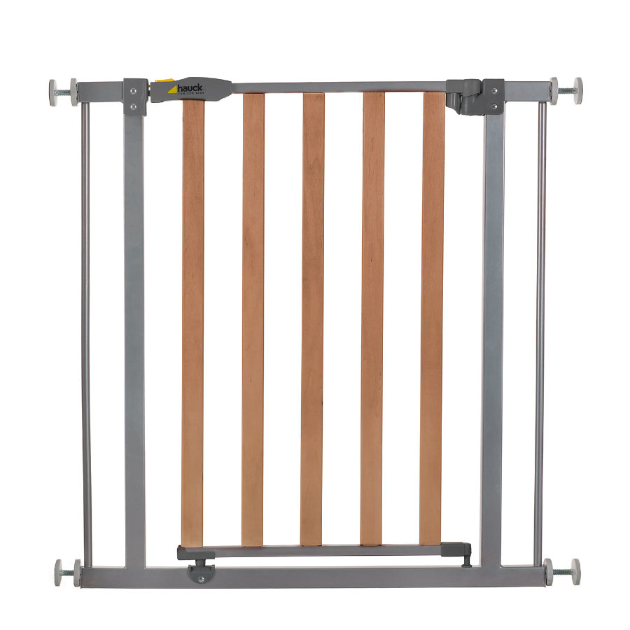 hauck Türschutzgitter Wood Lock Safety Gate silver