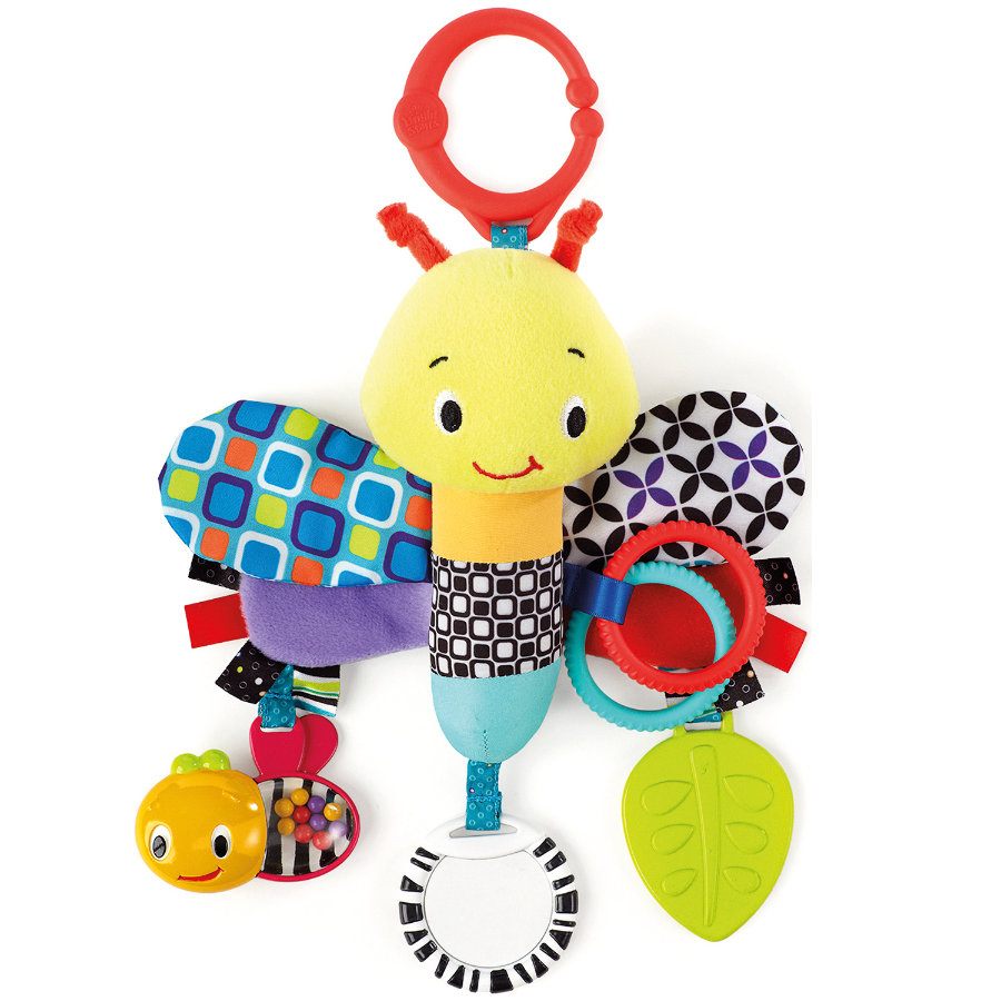HCM Libellule Bright Starts - Start Your Senses Sensory Plush Pals