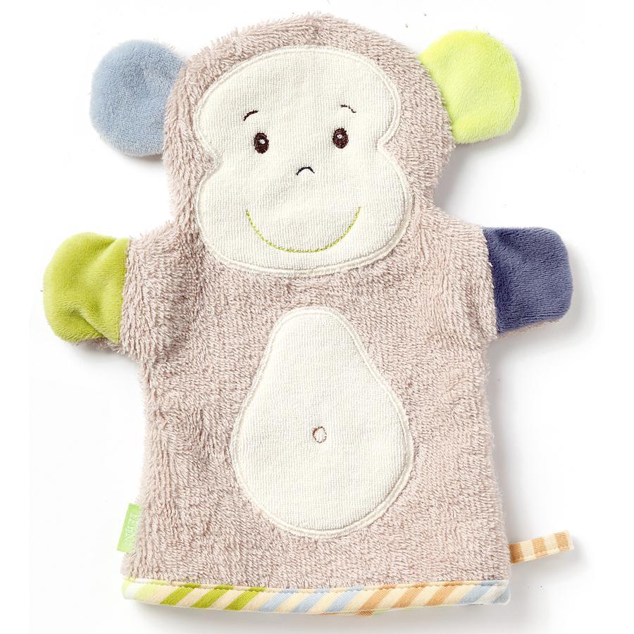 fehn® Waschhandschuh Affe Monkey Donkey