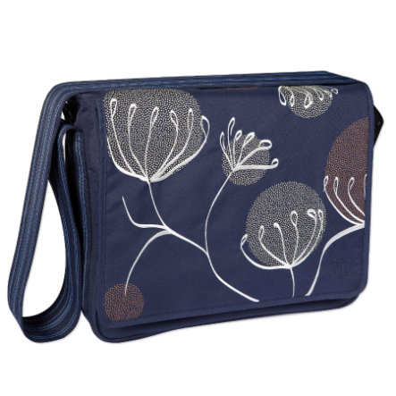 LÄSSIG přebalovací taška Casual Messenger Bag  Blowball navy