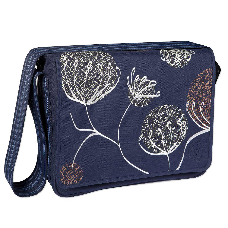 LÄSSIG Borsa fasciatoio Casual Messenger Bag Blowball navy