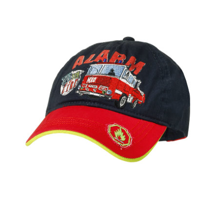 MaxiMo Boys Kids Cap STOP THE FIRE navy- red