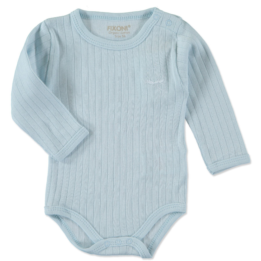 FIXONI Boys Baby Romper new light blue