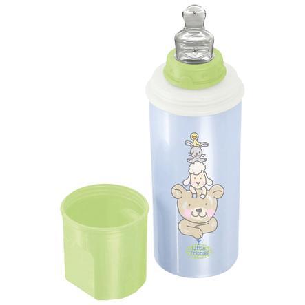 Rotho Babydesign Warmhalte-Flasche Beste Freunde babybleu