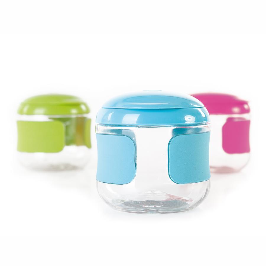 OXO Pot pour snack avec couvercle à clapet, Aqua
