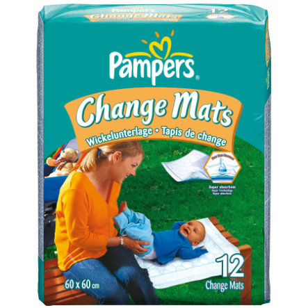 PAMPERS Change Mats Normal - Pack of 12