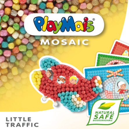 PlayMais® Pojazdy MOSAIC Little Traffic