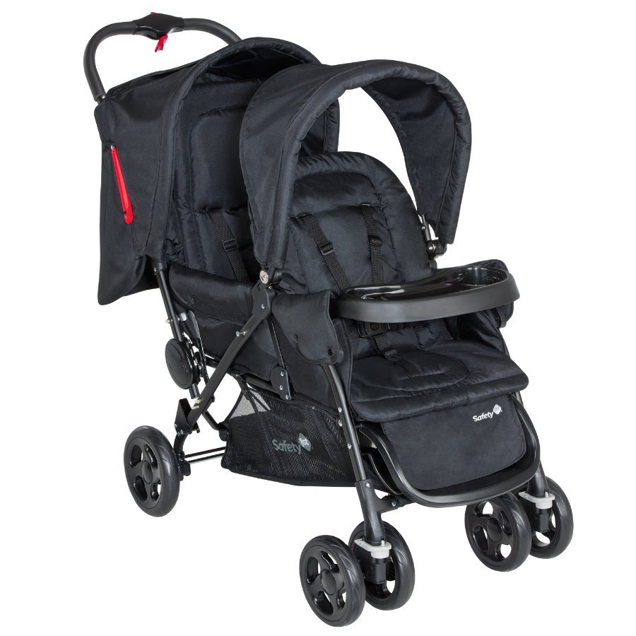 SAFETY 1st Passeggino gemellare Duodeal Full Black
