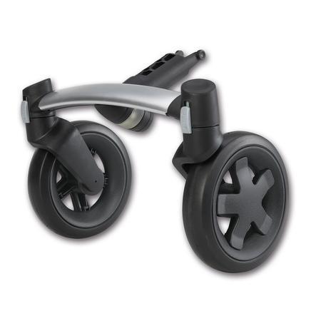 QUINNY BUZZ Oś przednia 4-kołowa do wózka Quinny Buzz kolor czarny