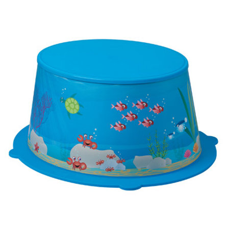 ROTHO STyLE! Kinderschemel Ocean aquamarine