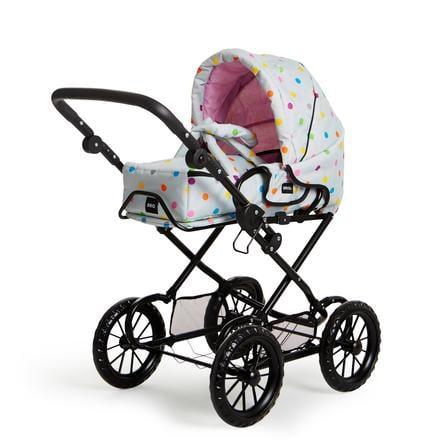 BRIO® Puppenwagen Combi - grau mit Punkten