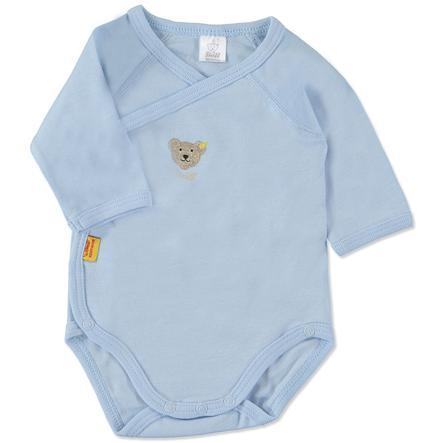 STEIFF Drenge baby slå-om-body, langærmet, blå