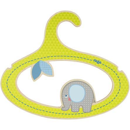 HABA Cintres pour enfants Egon l'éléphant 301178