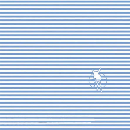 LÄSSIG Twister Chustka na głowę baby stripe brightblue