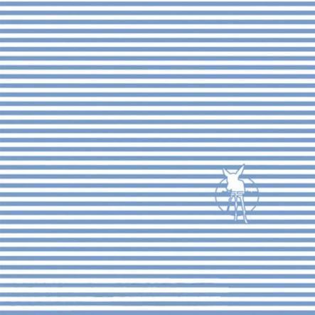 LÄSSIG Twister Sjal med många funktioner baby stripe brightblue