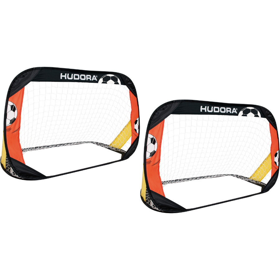 HUDORA Fotbollsmål Pop Up 2-pack  76994