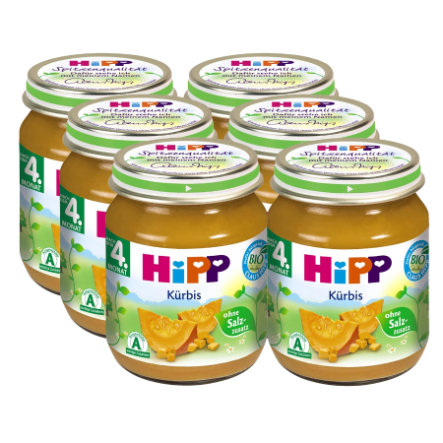 HiPP Pumpkin 6 x 125g