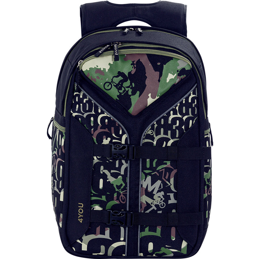 4YOU Flash RS Backpack Boomerang Sport, 439-45 BMX