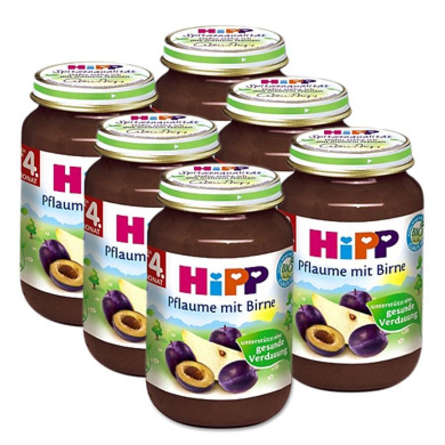 HiPP Bio Pflaume mit Birne 6x190g