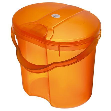ROTHO TOP Nappy Pail Translucent Orange