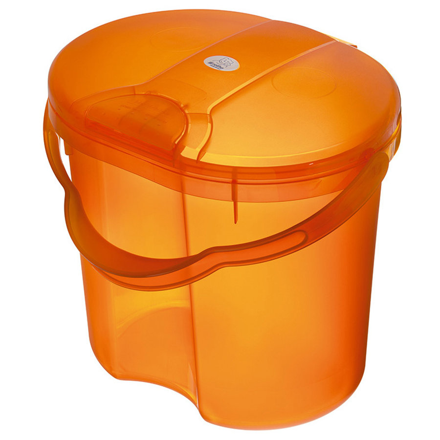 ROTHO Cestino per pannolini TOP  - Traslucido Arancione