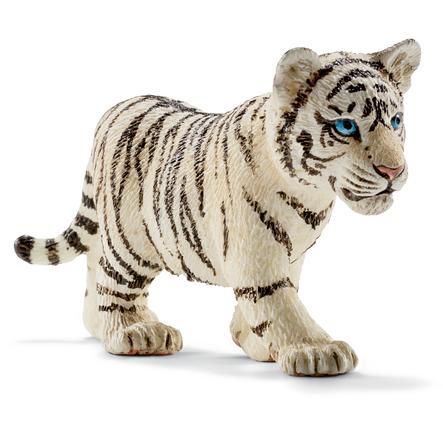 Schleich Figurine bébé tigre blanc 14732